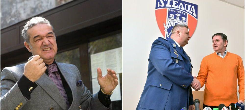 Ironia comandantului CSA la adresa echipei lui Becali, dupa ce a anuntat ca meciul cu Academia Rapid se va juca pe National Arena