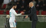 """Zidane i-a dat REPLICA lui Isco dupa ce jucatorul Realului l-a criticat public: """"Nu sunt nedrept, nu am o problema cu el!"""""""