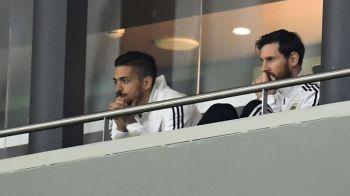 """Emotii dupa problemele lui Messi la nationala: """"Riscul este mare!"""" Ce a facut Messi la revenirea la Barcelona dupa dezastrul nationalei Argentinei"""