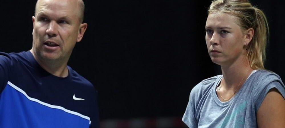 Decizie de ultima ora! Maria Sharapova si-a schimbat antrenorul! Cu cine lucreaza pentru revenirea in top