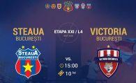 Steaua 13-0 Victoria Bucuresti! Steaua e DEVASTATOARE. Continua lupta TOTALA cu Academia Rapid