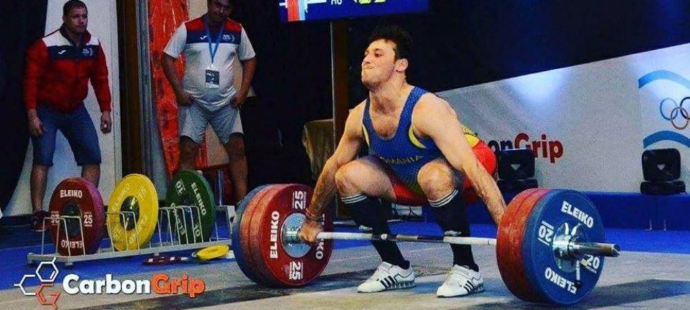 """AUR si argint pentru Nicolae Onica la europenele de haltere: """"Acum ma gandesc la Olimpiada!"""""""