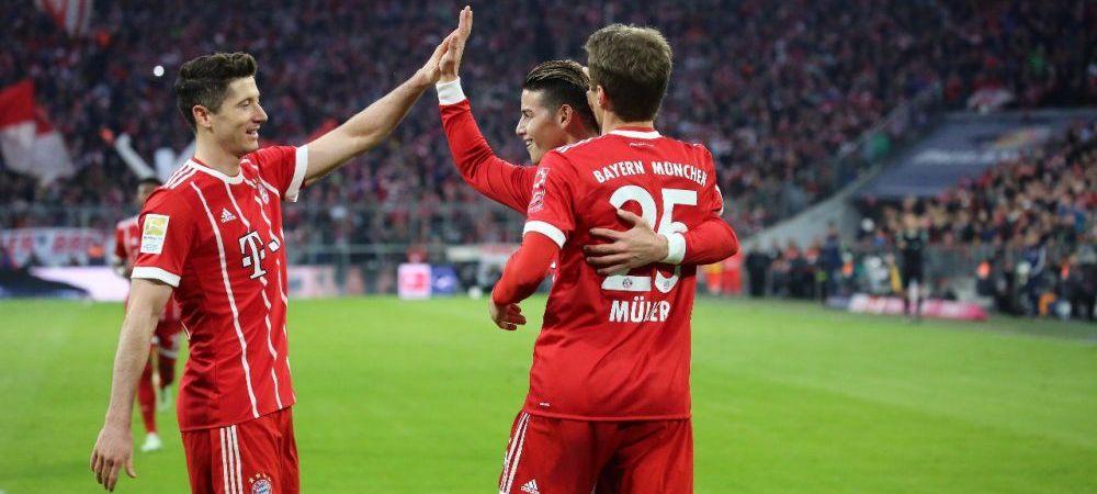 UMILINTA istorica pentru Borussia Dortmund! Bayern a distrus-o cu 6-0 pe Allianz Arena, Lewandowski a inscris de 3 ori!