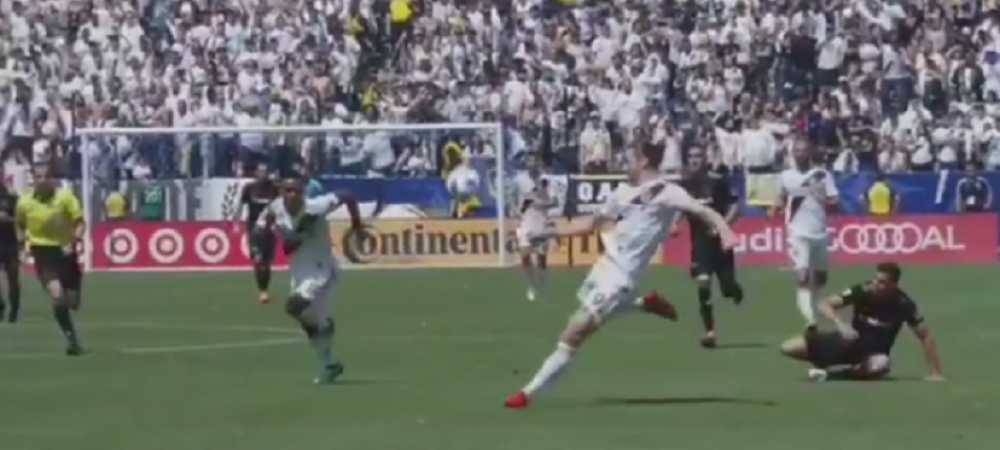 VIDEO: Cum s-a vazut de pe teren golul EPIC marcat de Zlatan pentru Galaxy
