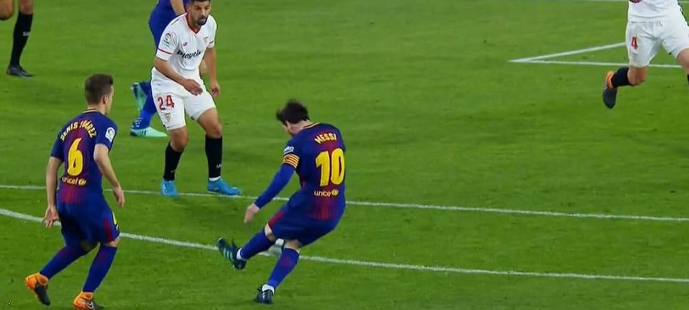 Gol DIVIN al lui Messi! Lovitura MAGICA a salvat-o pe Barcelona. VIDEO