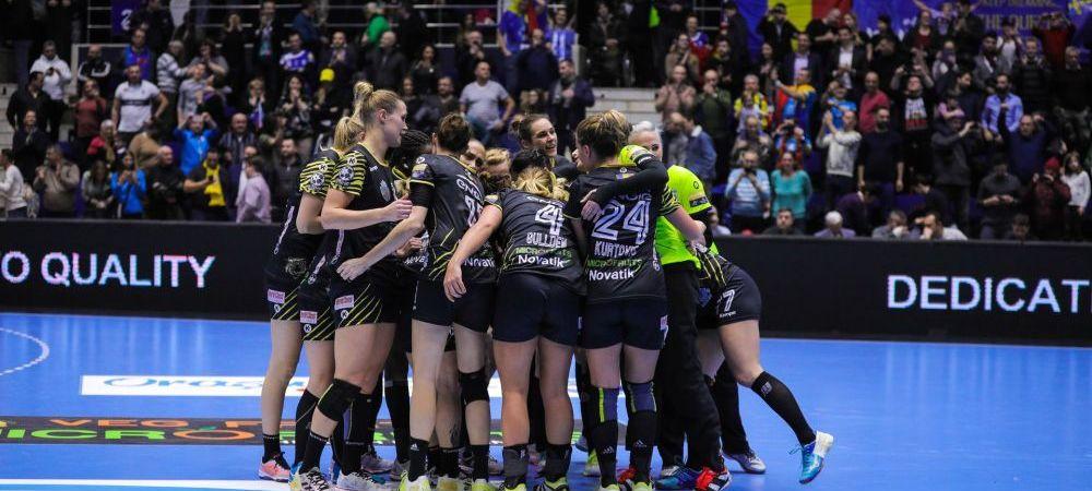CSM Bucuresti, regina Cupei Romaniei la handbal feminin! Victorie in finala cu Ramnicu Valcea
