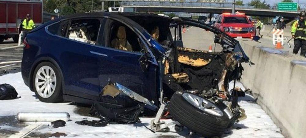 Pasager MORT intr-un accident provocat de o masina care se conduce singura! Anuntul facut de Tesla