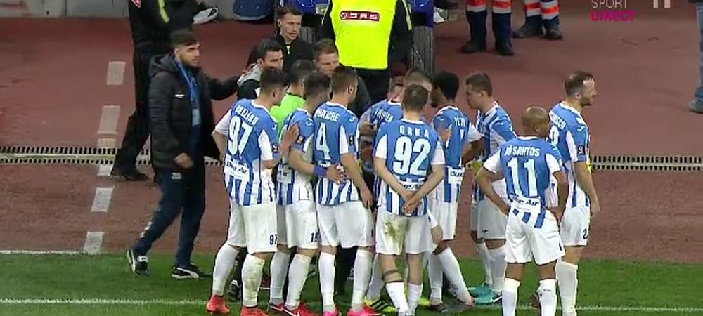 "A vrut Stoican sa scoata echipa de pe teren cu FCSB? Reactia lui Andrei Cristea: ""A vrut sa ne motiveze"""