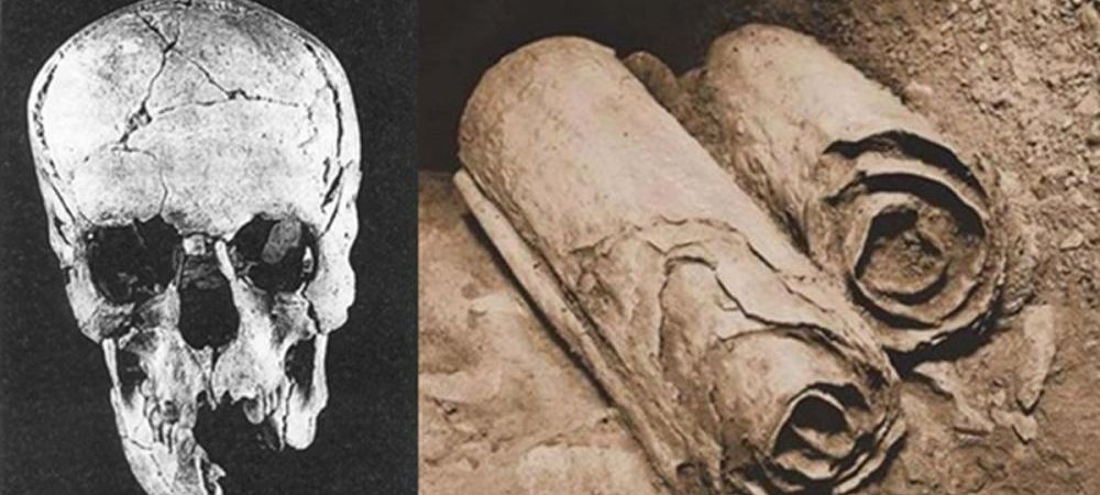 Biblia, contrazisa de un pergament vechi de 2.000 de ani, gasit in Marea Moarta! Ce scrie pe el