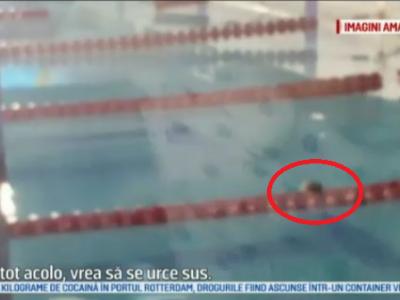 Ascundeti sobolanii, vine doamna ministru! :) Ce se intampla cu bazinul Lia Manoiu, dupa ce un sobolan a fost surprins inotand pe culoarul 7