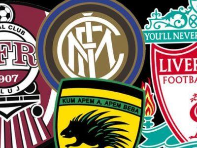 Englezii au facut un top al celor mai URATE si al celor mai FRUMOASE sigle din fotbal! In ce categorie se incadreaza CFR si Viitorul