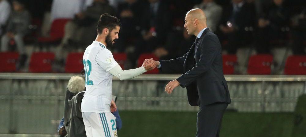 Are Zidane dreptate in duelul cu Isco? Dezvaluirea neasteptata facuta de Marca! Isco e la egalitate cu Cristiano Ronaldo