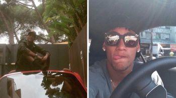 Cum arata flota de bolizi de peste 1 milion de euro a lui Neymar! Brazilianul si-a luat si avion privat! VIDEO