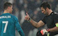 Stii ca esti unic atunci cand Buffon spune asta despre tine :) Legenda lui Juve si-a scos palaria in fata lui Ronaldo! Ce a spus dupa golul incasat din foarfeca