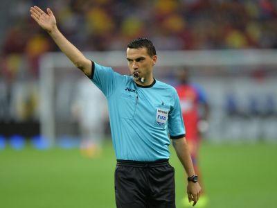 Brigada romaneasca in sferturile Europa League! Ce meci arbitreaza Ovidiu Hategan