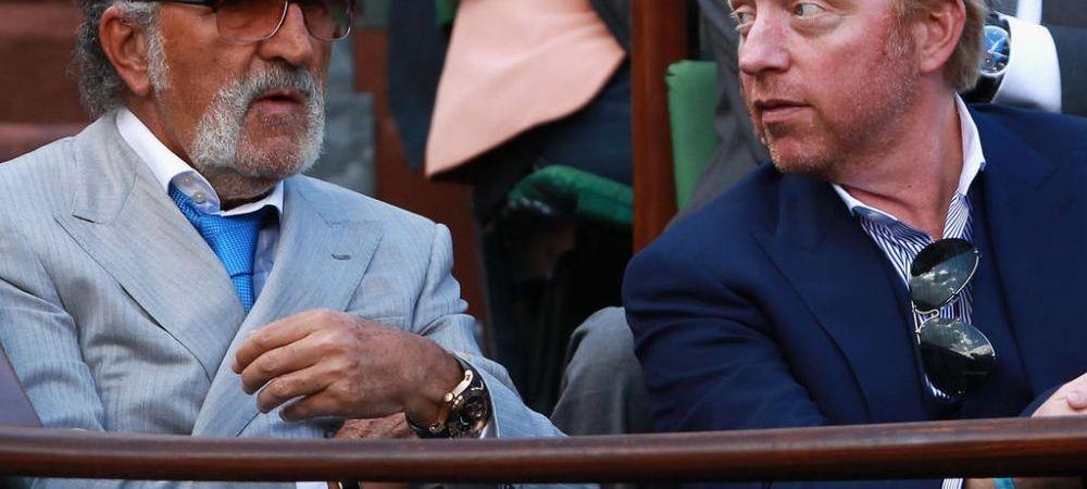 Tiriac vrea sa-l ajute pe Becker sa iasa din faliment! Ce afacere de 200 de milioane euro i-a propus