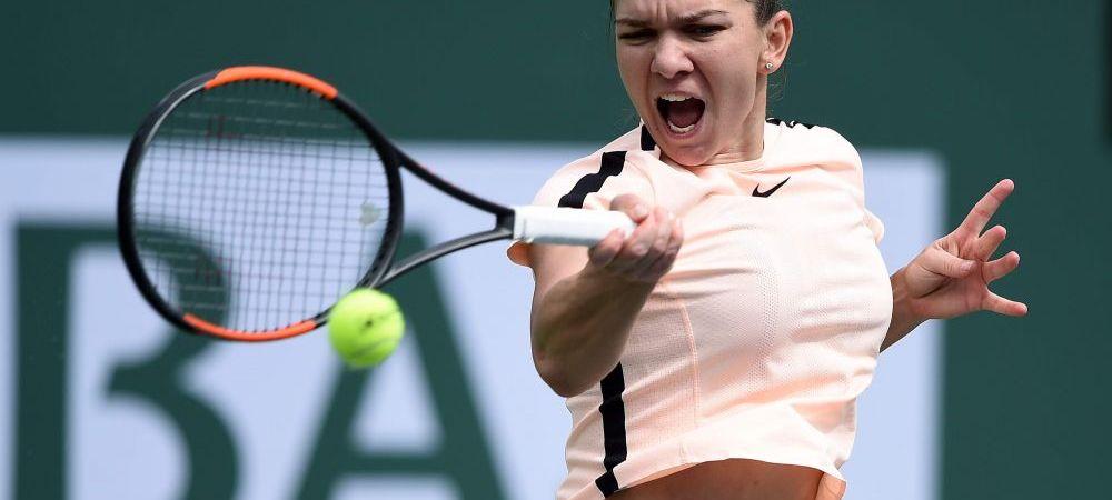 Simona Halep, nominalizata la lovitura lunii martie in circuitul WTA! Se bate cu Wozniacki, Kerber si Osaka. Voteaza aici