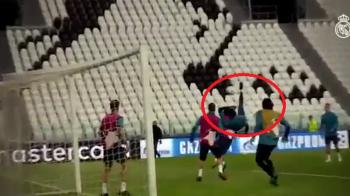Nu a fost intamplare! Ronaldo a reusit o FOARFECA identica la antrenament inainte de meciul cu Juve! VIDEO