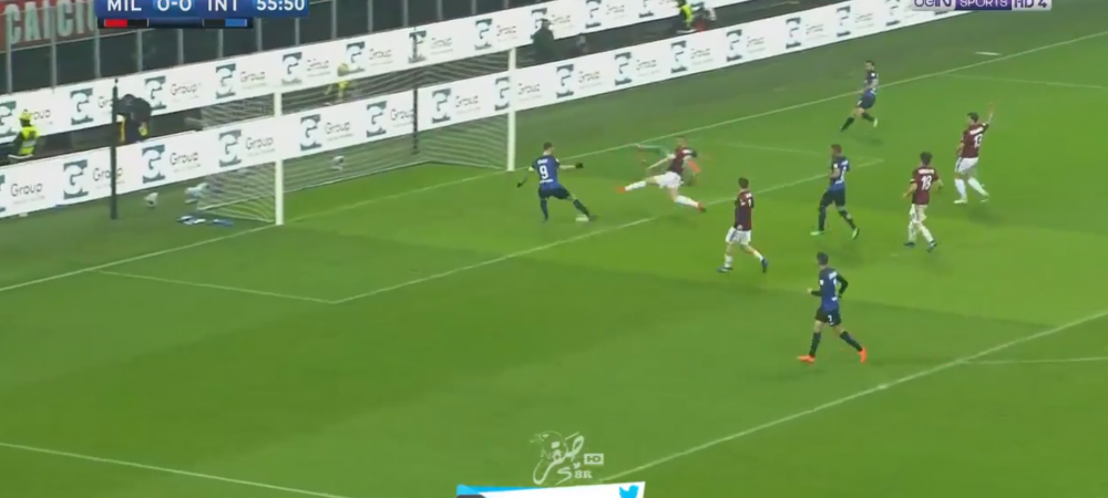 Asa ceva NU EXISTA! Icardi, ratarea DECENIULUI in derby-ul cu Milan! E incredibil cum a putut sa trimita! VIDEO