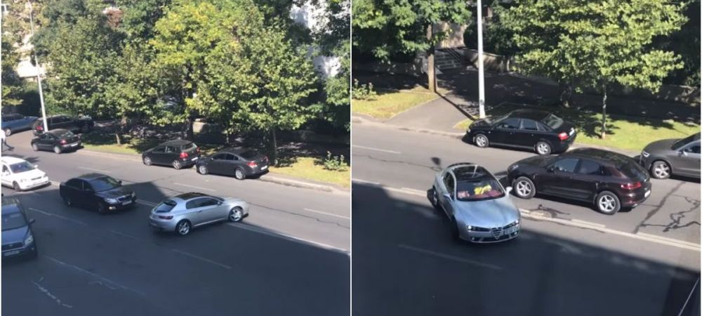 Scene incredibile pe un bulevard din Bucuresti! Un sofer haotic putea provoca cel putin un accident grav. VIDEO