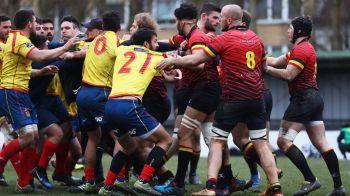 BREAKING NEWS | Federatia Internationala de Rugby cere rejucarea meciului Belgia - Spania, dupa scandalul iscat de trimiterea unui arbitru roman. Stejarii pot pierde Mondialul