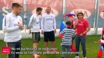 """""""Nu esti asa gras cum se spune"""" :)) Momente geniale la antrenamentul stelistilor! Ce le-au spus cativa copii lui Alibec si Budescu"""