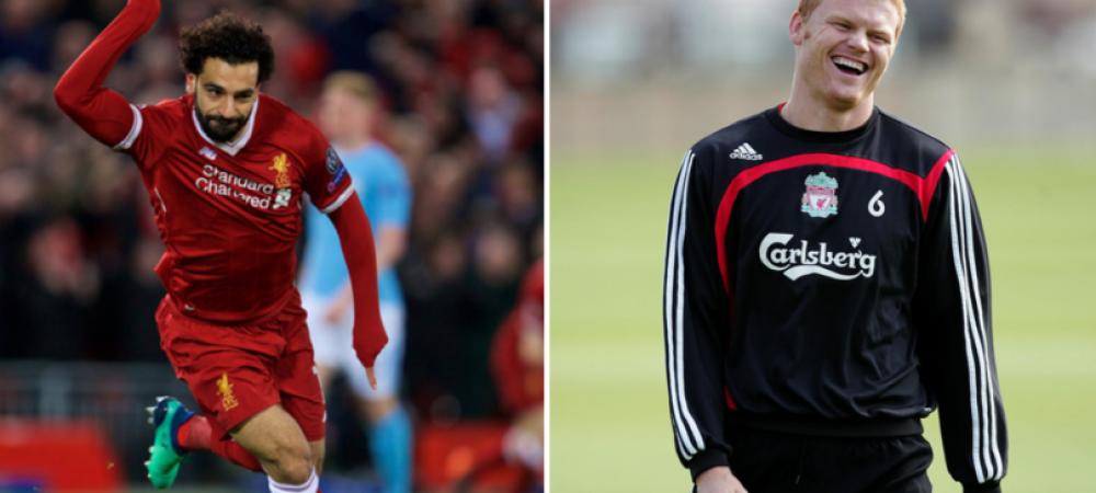 """""""Ce ai face daca l-ai avea pe Salah adversar?"""" Genial! Norvegianul Riise, fost castigator al Ligii cu Liverpool, a starnit hohote de ras"""