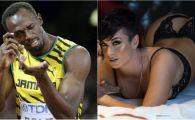 Bomba sexy care l-a traznit pana si pe Fulger! Usain Bolt a petrecut salbatic alaturi de o bruneta cu forme XXL: FOTO