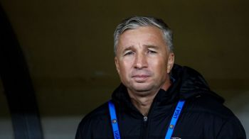 """Au avut o singura ocazie si ne-au dat gol!"" Prima reactie a lui Dan Petrescu dupa 1-1 cu Astra"