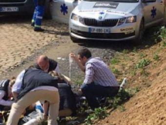 TRAGEDIE | Michael Goolaerts a decedat la spital dupa ce suferise un stop cardiac in timpul cursei Paris-Roubaix! Ciclistul belgian avea doar 23 de ani