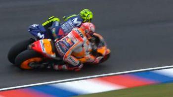 """SCANDAL cat casa in MotoGP! Rossi, atac VIOLENT la Marquez: """"A distrus acest sport! Sa stea departe de mine!"""" GESTUL facut de pilotul spaniol"""