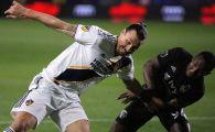 De data asta nu i-a mai intrat nimic! Ibrahimovic s-a enervat la al doilea meci in MLS, echipa sa a luat bataie. VIDEO