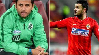 """Budescu n-a vorbit numai cu Becali, ci si cu Dica! Ce i-a spus antrenorului """"la rece"""", dupa declaratiile acide de ieri"""