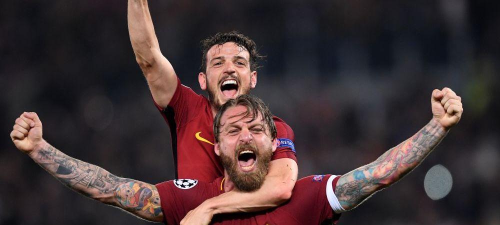 Asa arata bucuria sincera! VIDEO | IMAGINI DEMENTIALE la Roma! Gestul facut de presedintele clubului dupa eliminarea Barcelonei: fanii l-au aclamat