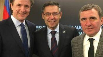 "Gica Popescu a urmarit ""pe viu"" NEBUNIA de pe Olimpico: ""Real e favorita sa castige, imi pare rau sa o spun!"" Ce a discutat cu Lobont dupa SEARA MAGICA a Romei"