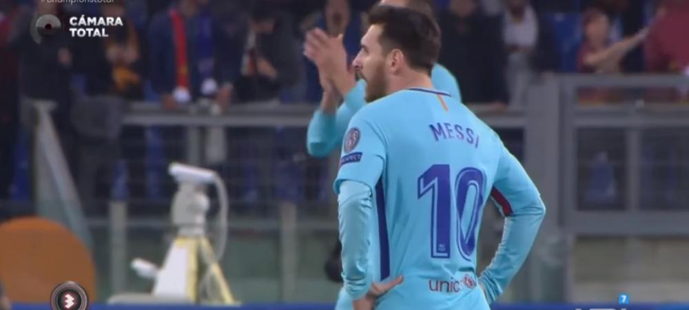 Imaginile care nu au nevoie de alte comentarii! Cum a reactionat Messi la golurile primite de Barcelona pe Olimpico. VIDEO