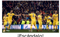 """""""FURT ISTORIC!"""" Catalanii au luat foc dupa calificarea Realului cu un penalty controversat! Reactii din presa spaniola"""