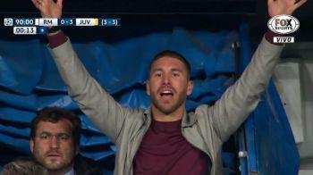 GAFA fara precedent a celor de la Real Madrid la partida cu Juventus! Ce s-a intamplat la vestiare: Ramos va fi suspendat pentru semifinale!