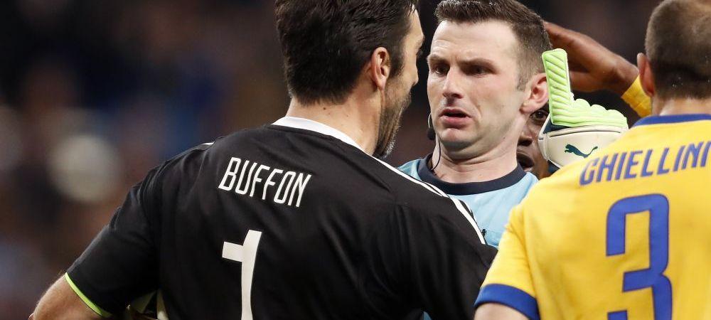 """""""Are cos de gunoi in loc de suflet!"""" Atacul incredibil al lui Buffon dupa eliminarea cu Real! Juventus cere implementarea VAR in Liga Campionilor"""