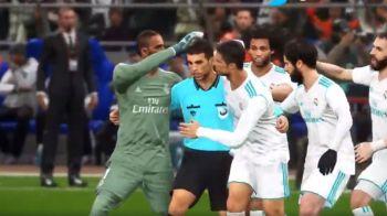 "VIDEO FA-BU-LOS! Planeta ""anti-Real"" rade dupa penalty-ul care a dus-o pe Real in semifinale! Cum s-au bucurat, de fapt, jucatorii dupa gol"