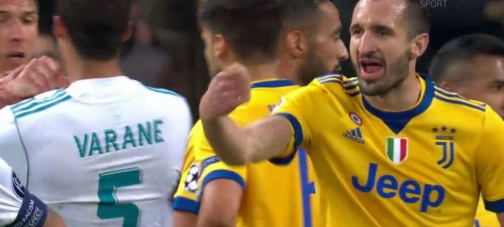 Buffon n-a fost singurul care si-a iesit din minti! Ce le-a spus Chiellini lui Marcelo si Varane dupa penalty-ul din minutul 90+3