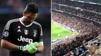 """Gestul care nu s-a vazut la TV! Reactia fanilor lui Real Madrid in momentul in care Buffon a parasit terenul: """"Asta arata clasa"""""""