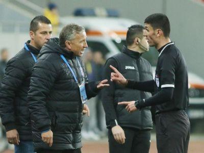 Arbitrul acuzat de Dan Petrescu ca a tras cu FCSB, trimis la CSA Steaua - Academia Rapid! Cine va arbitra derbyul de pe National Arena