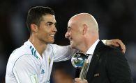 """""""NU SE MAI POATE ASA"""". Reactia sefului FIFA dupa scandalul de la Real Madrid - Juventus! Ce schimbari anunta Infantino"""