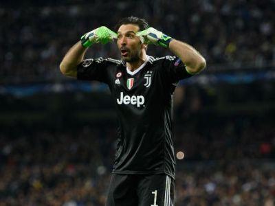 Buffon, pedepsit de UEFA cu un an de exil in Liga a 5-a! Propunerea englezilor dupa scandalul de la finalul meciului cu Real
