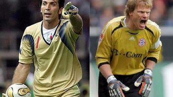 """Kahn, mesaj pentru Buffon: """"Tu de ce mai joci fotbal?"""" Ce ii reproseaza fostul mare portar al Germaniei"""