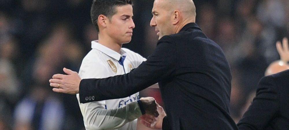 """James Rodriguez revine pe Bernabeu cu Bayern si vrea razbunare: """"Zidane e idolul meu, dar n-a fost corect cu mine!"""""""