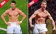 """""""E spectaculoasa transformarea! Mai joaca 4-5 ani la nivelul asta!"""" Imaginea cu Cristiano Ronaldo dupa golul cu Juve a ajuns intr-o sala de fitness din Bucuresti"""