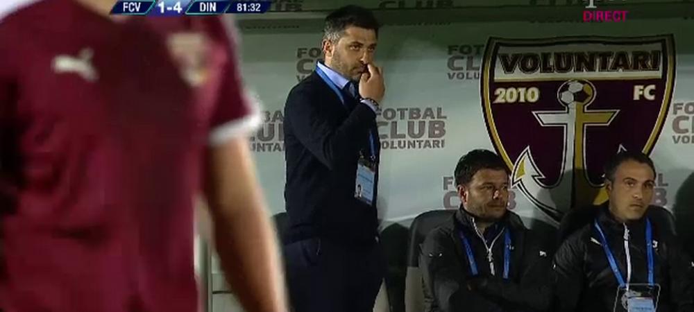 """Claudiu Niculescu, DEMIS de la Voluntari? """"E posibil sa plec, am jucat jalnic! E umilitor ce s-a intamplat!"""""""