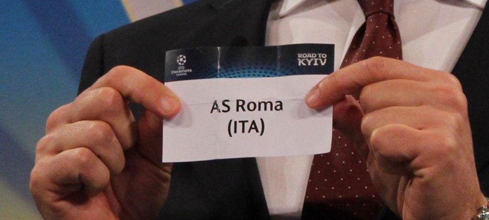 Raspunsul dat de UEFA dupa acuzatii ca tragerea la sorti a fost aranjata! Ce au spus despre gafa celor de la AS Roma